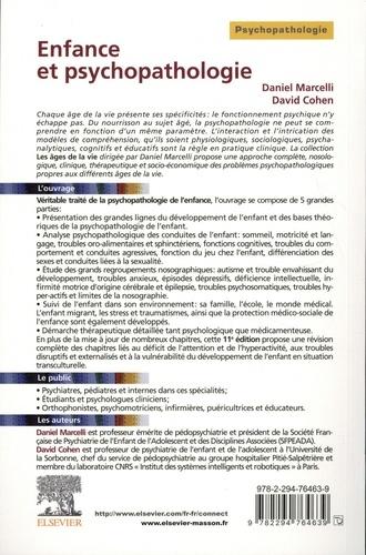 Enfance et psychopathologie 11e édition
