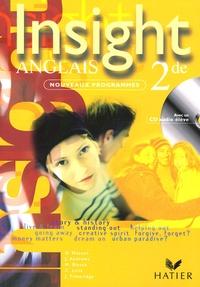 Daniel Masson et John Andrews - Anglais 2e Insight. 1 CD audio