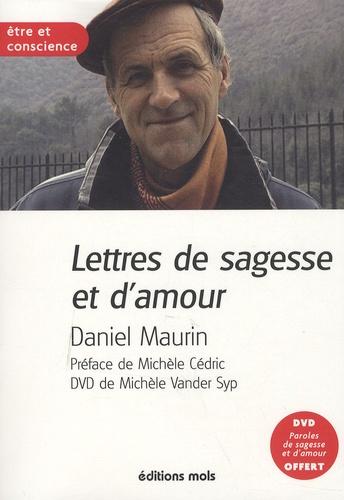 Daniel Maurin - Lettres d'amour et de sagesse. 1 DVD