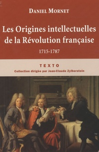 Deedr.fr Les Origines intellectuelles de la Révolution française - 1715-1787 Image