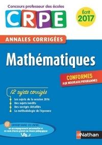 Daniel Motteau - E-PUB PEDAGOGIE  : Ebook - Annales CRPE 2017 : Mathématiques.