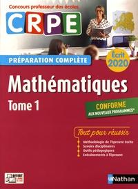 Mathématiques écrit CRPE- Tome 1 - Daniel Motteau |