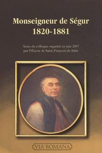 Accentsonline.fr Monseigneur de Ségur, 1820-1881 Image