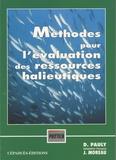 Daniel Pauly - Méthodes pour l'évaluation des ressources halieutiques.