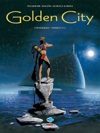 Daniel Pecqueur et Nicolas Malfin - Golden City L'intégrale tomes 1  : .