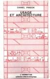 Daniel Pinson - Usage et architecture.