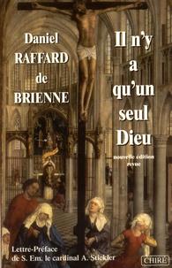 Daniel Raffard de Brienne - Il n'y a qu'un seul Dieu - Petit traité d'apologétique.