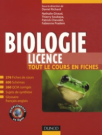 Daniel Richard - Biologie Licence - Tout le cours en fiches.