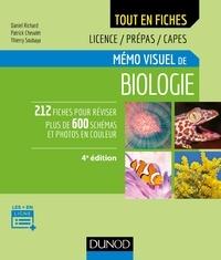 Daniel Richard et Patrick Chevalet - Mémo visuel de biologie - 4e éd.