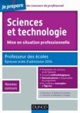 Daniel Richard et Jean-Paul Bellier - Sciences et technologie, mise en situation professionnelle - Professeur des écoles, Epreuve orale d'admission, nouveau concours.