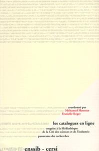 Les catalogues en ligne. Enquête à la Médiathèque de la Cité des sciences et de lindustrie, Panaorama des Recherches.pdf