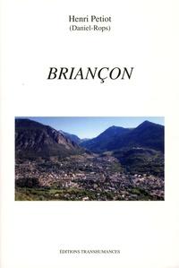 Daniel-Rops - Briançon - Esquisse de géographie urbaine.