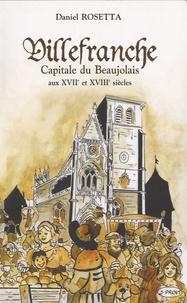 Deedr.fr Villefranche, capitale du Beaujolais aux XVIIe et XVIIIe siècles Image