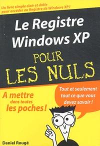 Le registre Windows XP pour les nuls.pdf