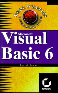 Daniel Rougé - Visual BASIC 6 - Microsoft.