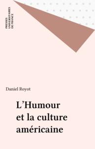 Daniel Royot - L'humour et la culture américaine.