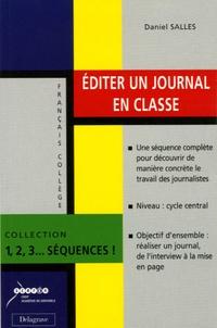 Daniel Salles - Editer un journal en classe.