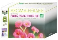Daniel Scimeca et Max Tétau - Aromathérapie - Le coffret des huiles essentielles Bio : les 3 flacons, le diffuseur, le guide.