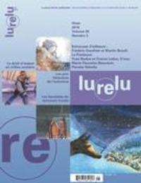 Daniel Sernine et Danièle Courchesne - Lurelu. Vol. 38 No. 3, Hiver 2016.