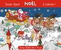 Daniel Silvestre Da Silva et Anton Poitier - Poster géant Noël à colorier.