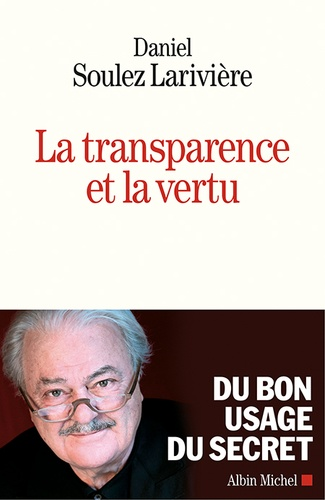 La transparence et la vertu