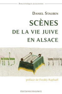 Daniel Stauben - Scènes de la vie juive en Alsace.