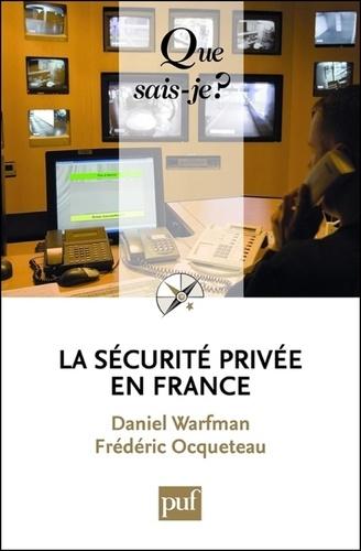 La sécurite privée en France
