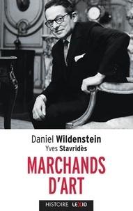 Daniel Wildenstein et Yves Stavridès - Marchands d'art.