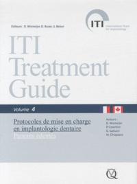 Daniel Wismeijer et Paolo Casentini - Protocoles de mise en charge en implantologie dentaire - Patients édentés.