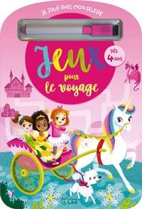 Deedr.fr Jeux pour le voyage - Avec un feutre rose Image
