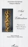 Daniela Fabiani - Art et littérature : regards sur les auteurs européens contemporains.
