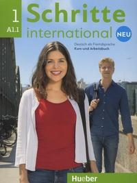 Daniela Niebisch et Sylvette Penning-Hiemstra - Schritte International Neu 1 Niveau A1/1, Deutsch als Fremdsprache - Kursbuch und Arbeitsbuch. 1 CD audio