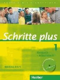 Coachingcorona.ch Schritte plus 1 Niveau A1/1. Kursbuch + Arbeitsbuch mit Audio-CD zum Arbeitsbuch - Deutsch als Fremdsprache Image