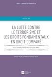Daniela Piana et François Molinié - La lutte contre le terrorisme et les droits fondamentaux en droit comparé.