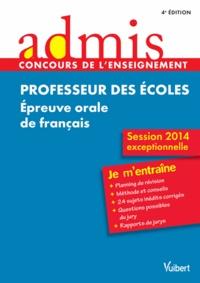 Danièle Adad et Malika Basquin - Professeur des écoles - Epreuve orale de français.