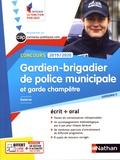 Danièle Bon et Pascal Tuccinardi - Gardien-brigadier de police municipale et garde champêtre - Concours catégorie C.