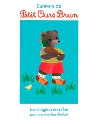 Danièle Bour - Les images à encadrer Petit Ours brun au manège.