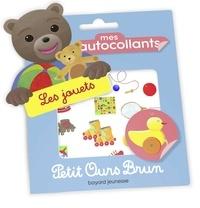 Danièle Bour - Mes autocollants Petit Ours Brun - Les jouets.