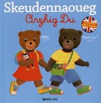 Danièle Bour et Martin Bour - Skeudennaoueg Arzhig Du - L'imagier breton-anglais de Petit Ours Brun.