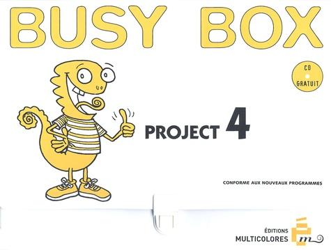 Danièle Bourdais et Sue Finnie - Busy Box - Mallette Project 4 : Happy birthday. 1 CD audio