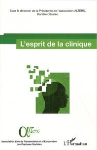 Ucareoutplacement.be L'esprit de la clinique - Actes des journées d'étude 13 & 14 mai 2011 organisées par l'association ALTERS Image