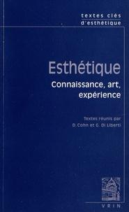Danièle Cohn et Giuseppe Di Liberti - Esthétique - Connaissance, art, expérience.