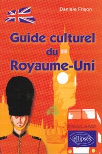 Danièle Frison - Guide culturel du Royaume-Uni.