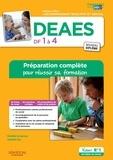 Danièle Lenepveu et Isabelle Sue - DEAES DF 1 à 4 - Préparation complète pour réussir sa formation.