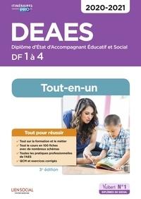 Danièle Lenepveu et Isabelle Sue - DEAES DF 1 à 4 - Tout-en-un.