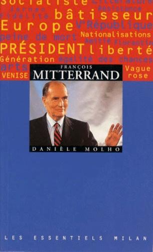 Danièle Molho - François Mitterrand.