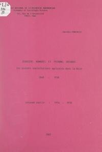Danièle Ponchelet et  Institut national de la recher - Ouvriers nomades et patrons briards : les grandes exploitations agricoles dans la Brie, 1848-1938 (2). 1914-1938.