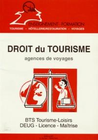 DROIT DU TOURISME. Agences de voyages - Danièle Rubio-Ayache |