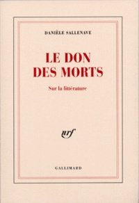 Deedr.fr LE DON DES MORTS. Sur la littérature Image