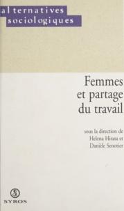 Danièle Sénotier et Helena Sumiko Hirata - Femmes et partage du travail.